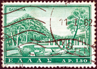 Ancient Olympia (Greece 1961)