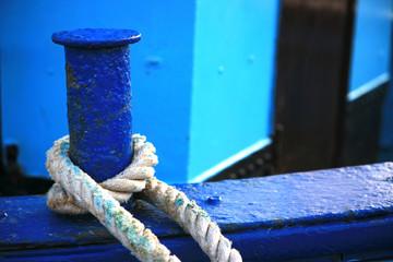 Seil an Fischerboot