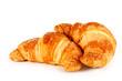 Croissant su sfondo bianco - 50144495
