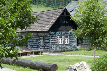 Traditional cottage in Cicmany - Slovakia