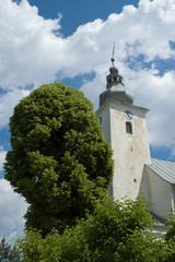 Church in Cicmany - Slovakia