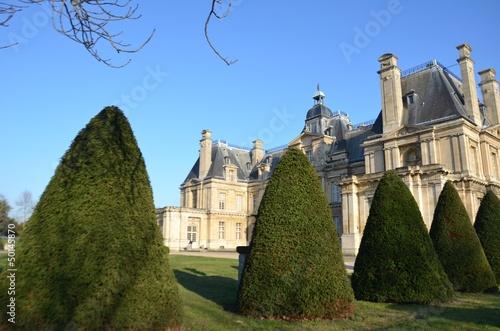 Château de maisons laffite, bosquets, parcs