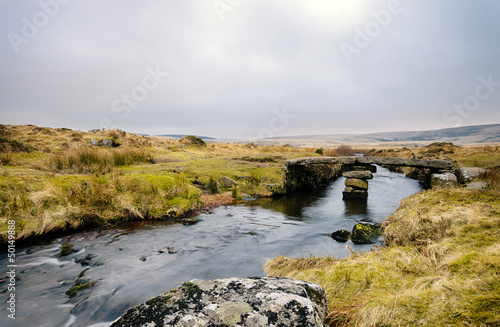 Winters Evening on Dartmoor