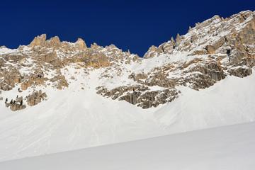 Dolomiti - Monte Latemar in inverno