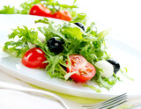 Fototapety Salad with Mozzarella Cheese