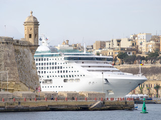 WatchTower And Cruise Ship