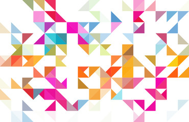 colorful geometric background (pattern)