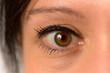 Auge von einer Frau