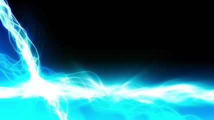 Magic Light Streaks Background