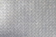 gray colored diamond plate background - 50155638