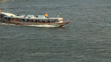 ExpressBoat in the Chao phraya River Thailand