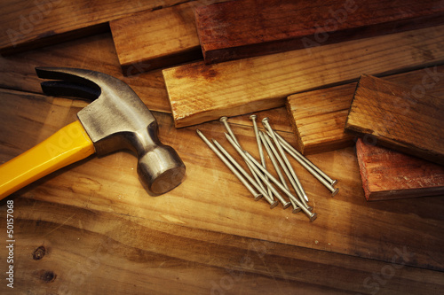 Carpentry still life