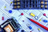 Electrical components poster
