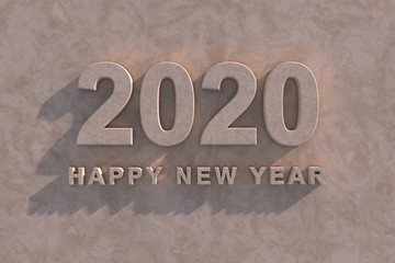 Marble 2020 Happy New Year