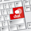 Chat keyboard