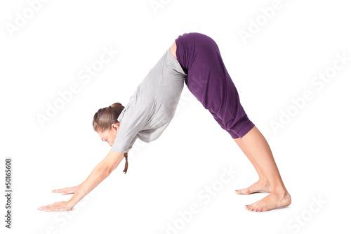 Fototapeten,asana,frau,yoga,betätigung