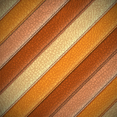 Leather stripes - abstract background- eps10