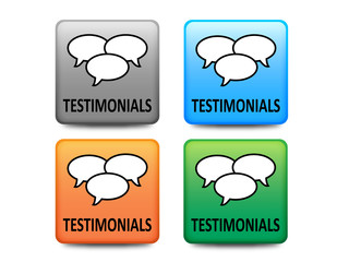 Testimonials buttons (four colors)