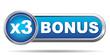 BONUS X3 ICON
