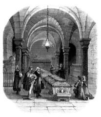 Crypt - Tombeau - 17th century