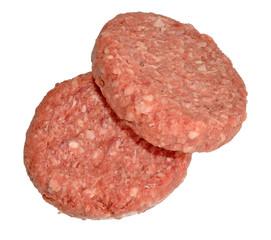 Raw Hamburgers