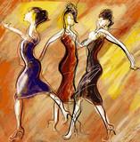 women dancing - 50169672