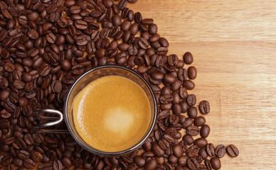 Espresso von oben