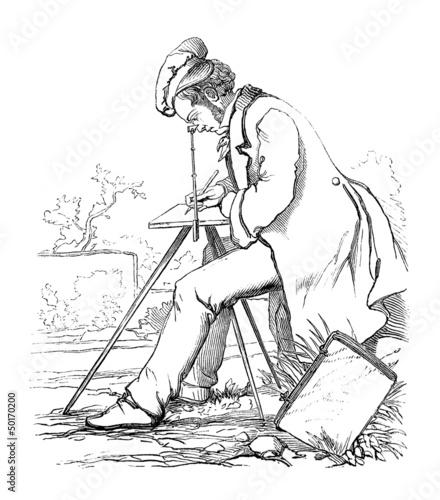 Illustrator - Dessinateur - Zeichner - 19th century