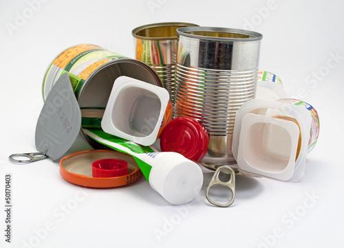 Leinwanddruck Bild Recycling