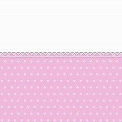 Pink Background with lace - Place your text