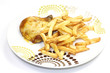 poulet et frites