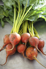 Close up of beets