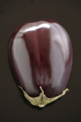 Close up of an eggplant