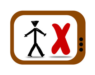TV Man Cross
