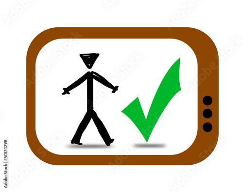 TV Man Tick