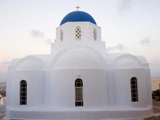 White orthodox Greek church