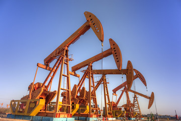 oil pump jacks  HDR