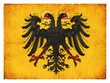 Grunge-Flagge Heiliges Römisches Reich Deutscher Nation (histori