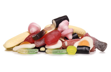pile of pick and mix sweets