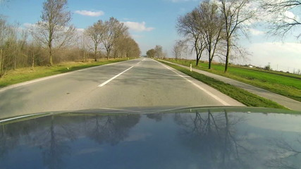 Open Road Drive - Time Lapse