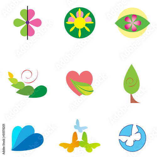 Nature & Ecology Symbol Set