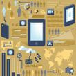 smart phone/infographic
