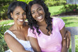 African American Woman Girl Mother Daughter