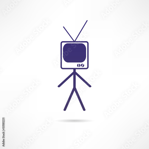 man TV icon