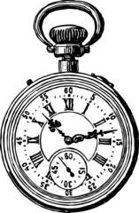 ancient pocket watch
