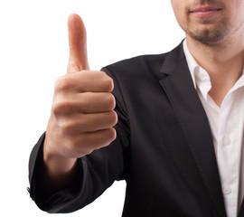 Thumb up, ok, super