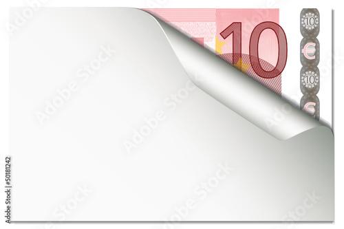 10 Eur  - Papercurl