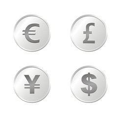 currency coins - silver