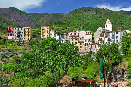 Corniglia village. Cinque terre
