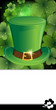Leprechaun hat with buckle